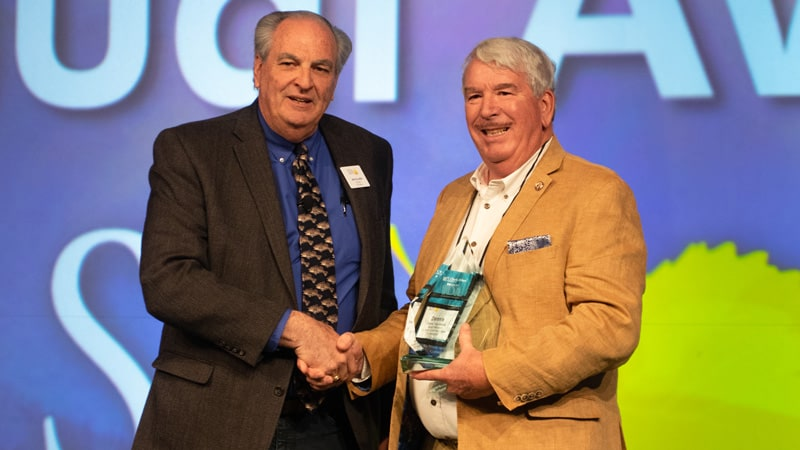 Dennis Yanchunas Honored by Colorado Special District Association