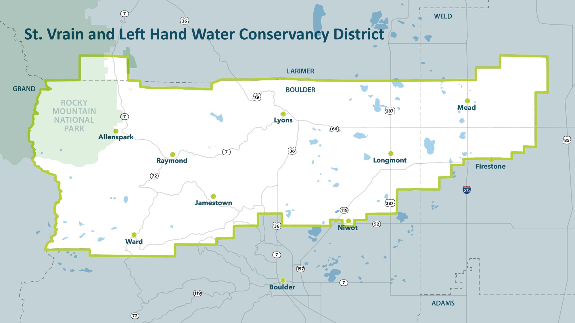 St. Vrain and Left Hand Water Conservancy District